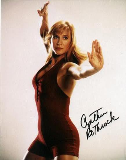 Cynthia Rothrock – A estrela das artes marciais no Brasil