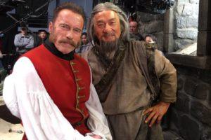 Jackie Chan e Arnold Schwarzenegger juntos em novo filme