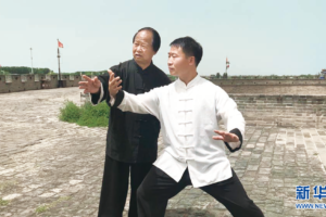 Para o Mestre Yáng zhèn hé, Herdar a cultura Tai Chi é a missão da minha vida
